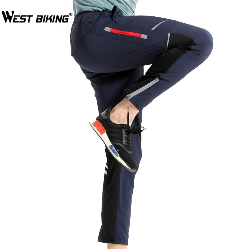 WEST BIKING Bicycle Pants Cycling Ciclismo Riding Pants Bike Pants Summer Bicycle Quick Drying Sports Clothings Cycling Pants