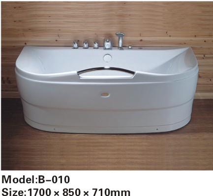 Single Person Partable ABS Massage Bathtub,Cheap Whirlpool Bathtub
