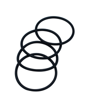 лучшая цена Black Nitrile Rubber 5mm Thickness O Rings Seals Washer 15-400mm Outside Diameter NBR O Shaped Rings Washer Gaskets