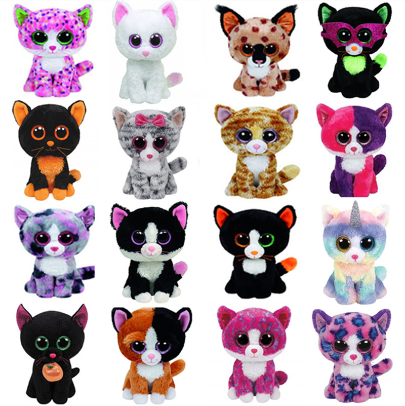 Plush-Toy Muffin Pepper Buckwheat Stuffed Animal Sophie Cat Lindi Tabitha Big-Eyes Kiki title=