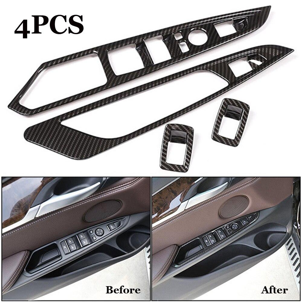Carbon Fiber Interior Dashboard Cover ABS Dash Board Panel Trim Frame Bezel for 2018 JL Jeep Wrangler
