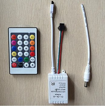 WS2811 24key LED pixel IR remote controller 231changes 1000 pixels for LED flexible strip WS2811, WS2812B, WS2813, Free Shipping