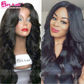 Glueless Full Lace Human Hair Wigs Baby Hair Lace Front Wig 7A Virgin Brazilian Human Hair Wigs For Black Women Wavy 150 Density