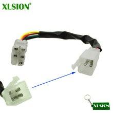 Xlsion cabo de conexão cdi, adaptador para cabos de moto, quad
