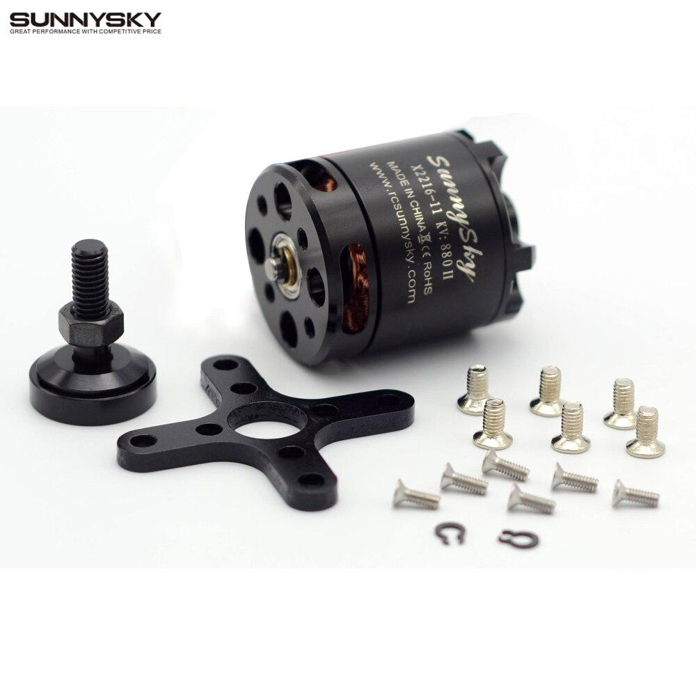 1 piezas SUNNYSKY X2216 KV880 KV1100 KV1250 KV1400 KV2400 Outrunner Motor sin escobillas para Multi-rotor Quadcopter 3D avión
