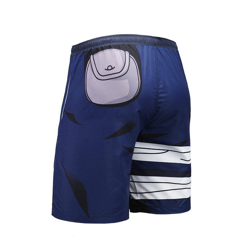 Casual Man Swimsuit Mens Shorts With Outwear Trunks Beach Briefs Shorts Fashion Men Swimwear Men Short Homme Anime