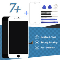 For iPhone 7 Plus LCD Screen With 3D Touch White Black Smartphone Display Digitizer Assembly Phone Replacement Accessories Part