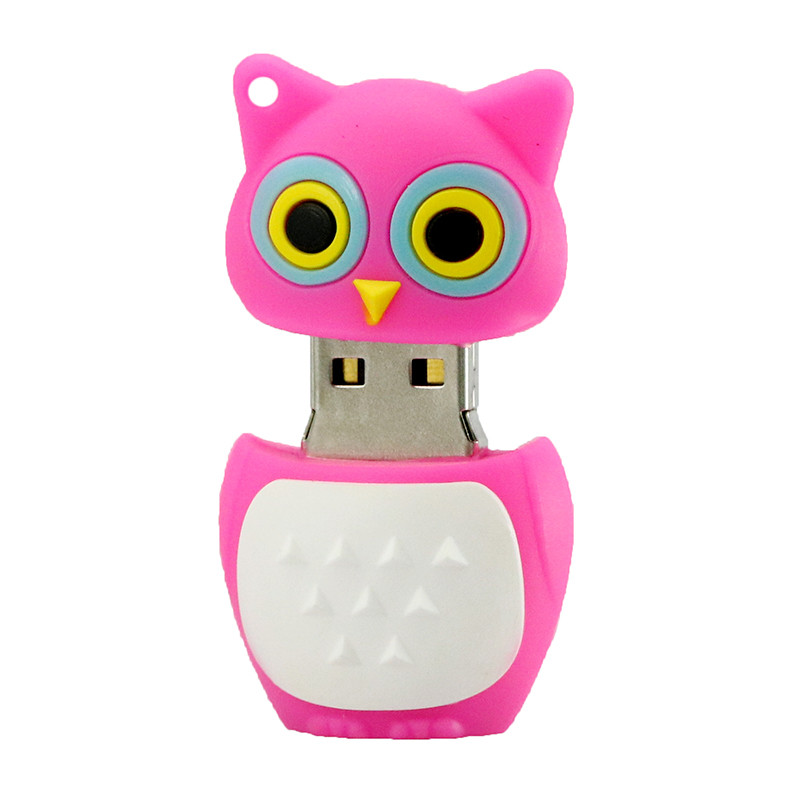 Cute Owl USB 2.0 Flash Drives გარე შენახვის - შემნახველი წყაროები - ფოტო 6