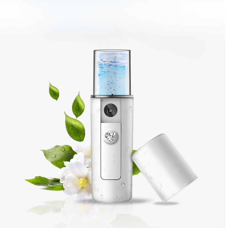 New Women Portable Nano Mist Sprayer Facial Body Nebulizer Steamer Moisturizing Skin Care Mini USB Face Spray Beauty Instruments portable mini usb handy mist sprayer facial body nebulizer steamer face skin care moisturizing spray beauty instrument