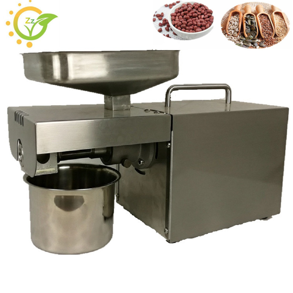 2017 Brand New Oil pressing Machine Soybean Home Use Oil Pressers 220V 200W Cold Peanuts Electric Stainless Steel Oil Press Mach 100w 120w uv led module uv gel curing lamps watercooling for ultraviolet disinfection equipment printing screen printing machine