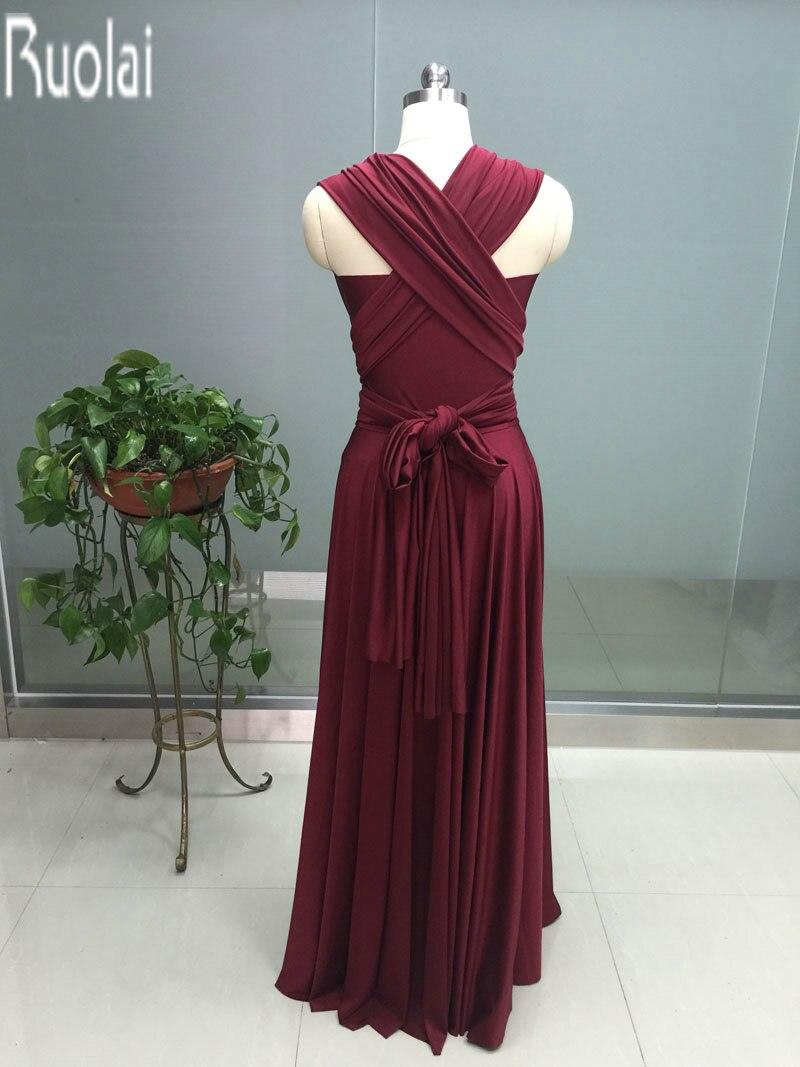 burgundy floor length bridesmaid dresses