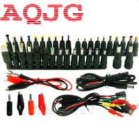 48pcs Universal Laptop AC DC Jack Power Supply Adapter Connector Plug for HP IBM Dell Apple Lenovo Acer Toshiba Notebook Cable