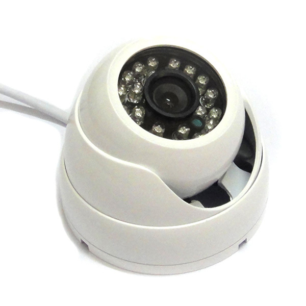 ФОТО 1 3 800TVL IR Color CCTV Outdoor Security CMOS Waterproof Dome Camera 24 LEDs wide angle
