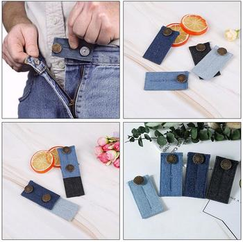 Pregnant Belt Pregnancy Support Maternity Pregnancy Waistband Belt Elastic Waist Button Extender Adjustable Pants Button 4829