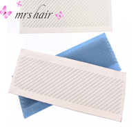 Hair Drawing Mat For Bulk Hair Extension Tools Hair Extensions Drawing Card(Skin Pad) With Needles 24cm x 9cm