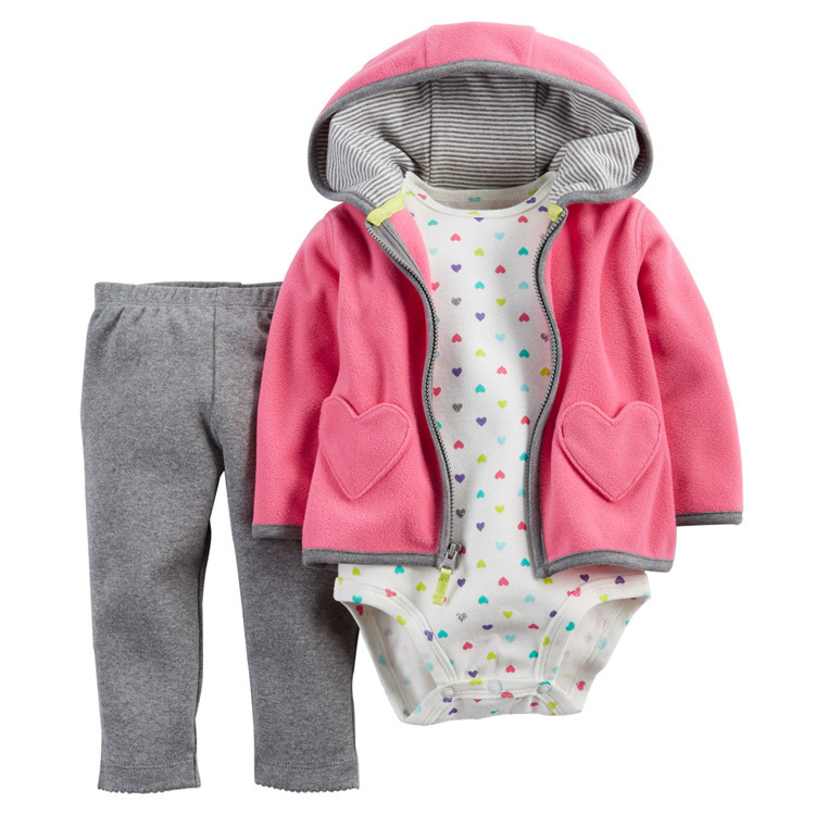 Baby-Boy-Girl-Clothing-set-3-Piece-Bodysuit-Hooded-Long-Sleeve-Outwear-Pants-carter-Cotton-Bebes (13)
