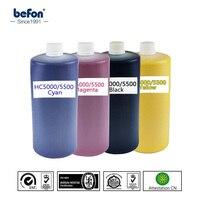 Befon HC5000 5500 riso Compatível Substituição De Tinta para Riso cor da tinta 5500 K C M Y 1000 ml garrafa de tinta k y ink 1000ml bottle ink -