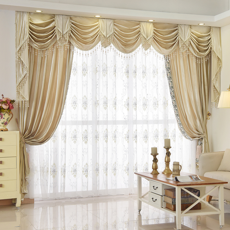 Custom Curtain Italy High Grade Silk Velvet Curtain