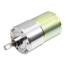 UXCELL DC 24V 500RPM Micro Gear Box Motor Speed Reduction Electric Gearbox Centric Output Shaft Hot Sale