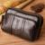 Los Hombres de moda de Cuero Genuino Real Cintura Bolsa Celular/Caja Del Teléfono Móvil Bolsa Riñonera Cinturón de Piel Marca Pequeña bolsa de Mensajero Bolsas de hombro
