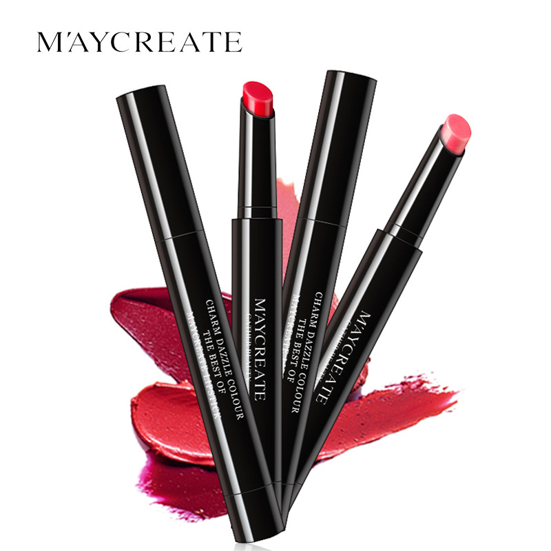 MayCreat Original Lipstick Pencil Sexy Beauty Long Lasting Waterproof Pigment Matte Lipstick Pencils Moisturizer Lips Makeup