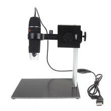 Электронная Схема Ремонт USB Микроскоп 500x Лупа Обнаружения с Держателем Пайки Стенд Лампы С Функцией Измерения