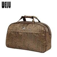 WEIJU Men Travel Bags 2017 New Fashion Casual Polyester Luggage Duffle Bags Shoulder Handbag Large Capacity