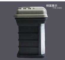 KAWA fishing tackle box, Multifunctional fishing lure case, Multi-layer fishing box, 4 layers small cases,free shipping