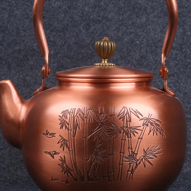Copper Tetsubin Teakettle 2