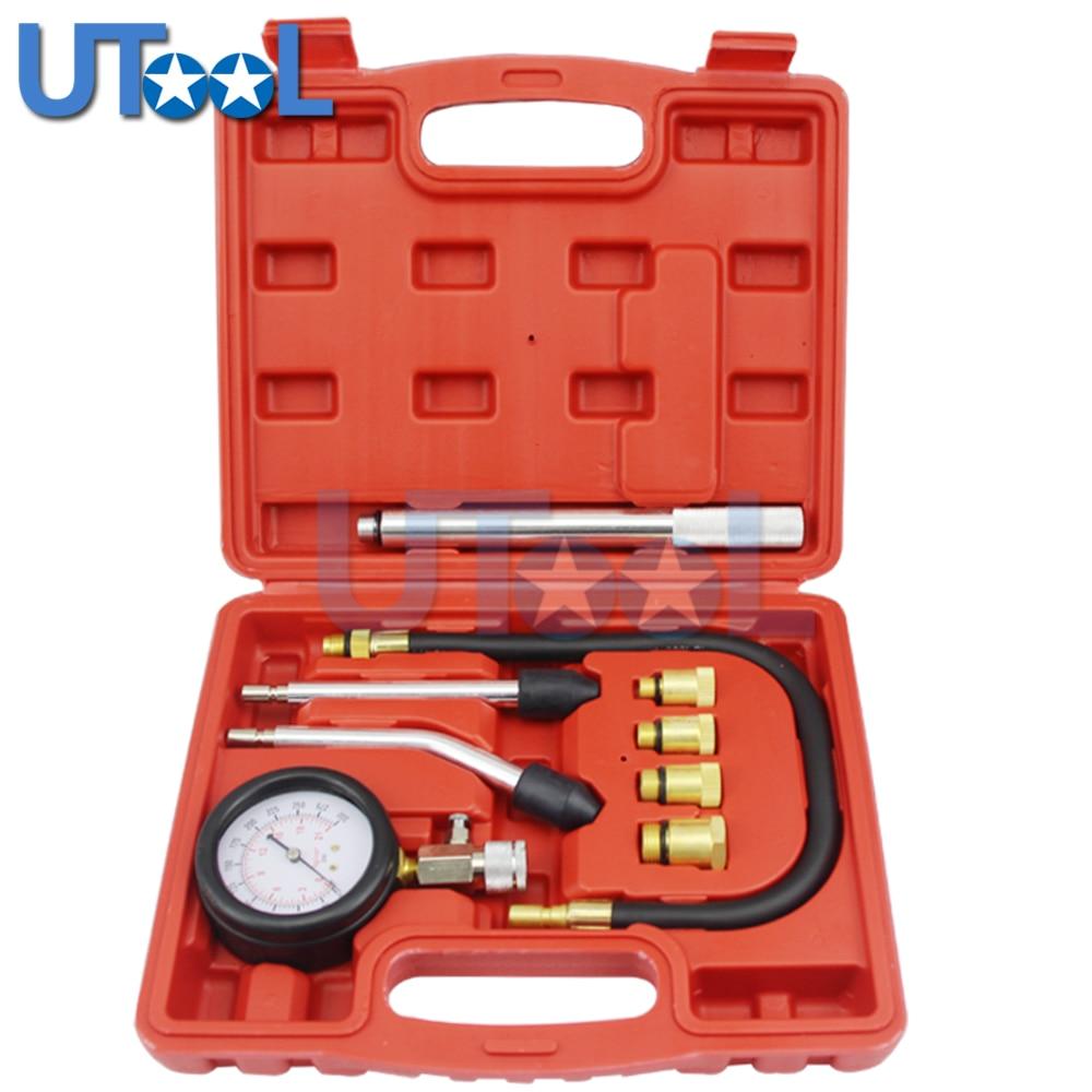 UTOOL Car Diagnostic Tool Of New Rapid Type Cylinder Pressure Gauge Compression Tester Kit For Petrol Engine