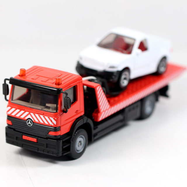 Siku Mb Failure Rescue Trailer Truck 2712 Alloy Car Model Toy 1 55