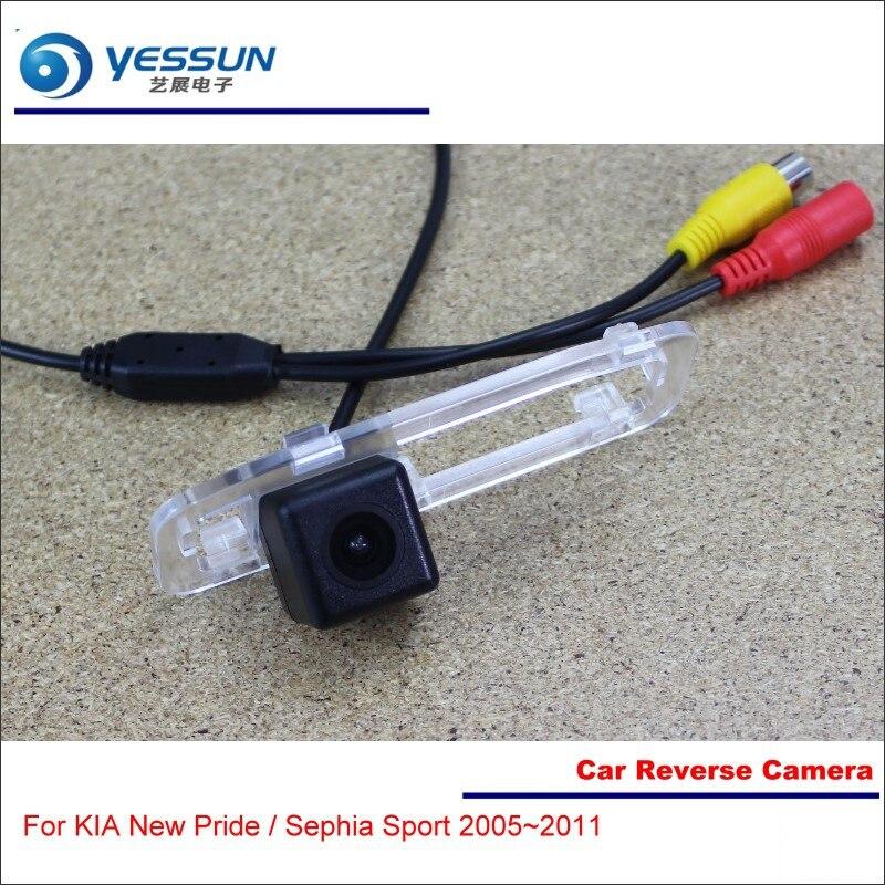 Yessun автомобиля обратный Камера для KIA Новый Гордость/Sephia Sport 2005 ~ 2011-вид сзади обратно парковка реверсивный Камера-высокое качество