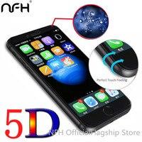 5D 3nd Gen 3D 2nd Gen 4D Full Screen Cover Tempered Glass For IPhone 6 6S