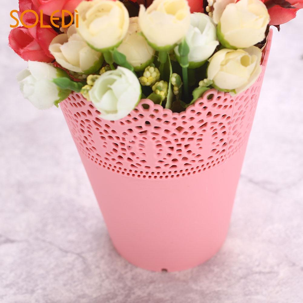 Flower Vase Pinkwhitebluepurple Economic Pen Container Storage