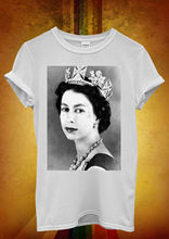 Her Majesty the Queen Elizabeth II Men Women Unisex T Shirt  Top Vest 1217 New Shirts Funny Tops Tee