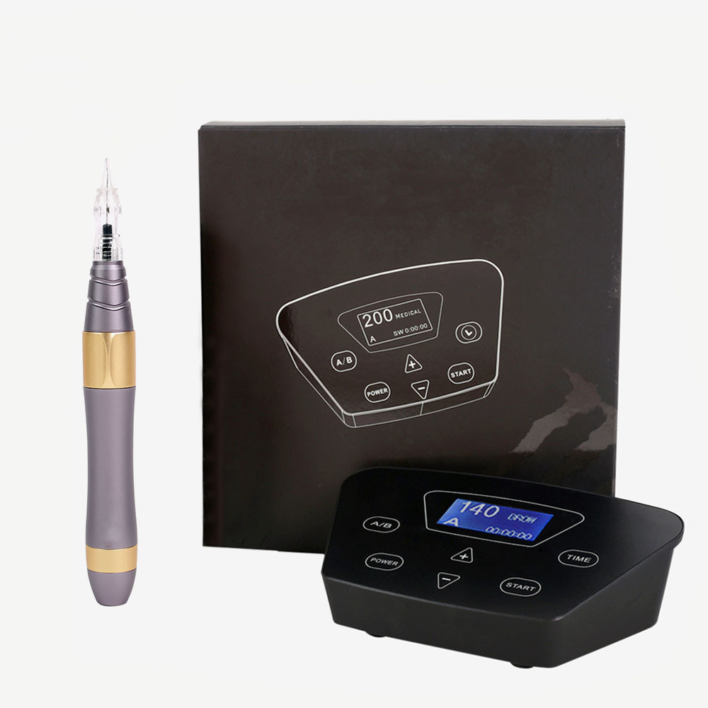BIOMASER E005 P300 Permanent Makeup Machine Kits Eyebrow Tattoo Machine Pen Rotary Gun For Eyebrow Eyeliner Lip Tattoo Set