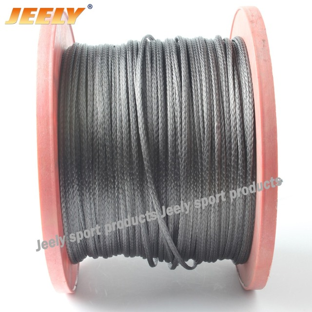Free Shipping 1000M/piece 1000LB uhmwpe fiber Reel Speargun spearfishing line flat version 2mm 12 weave