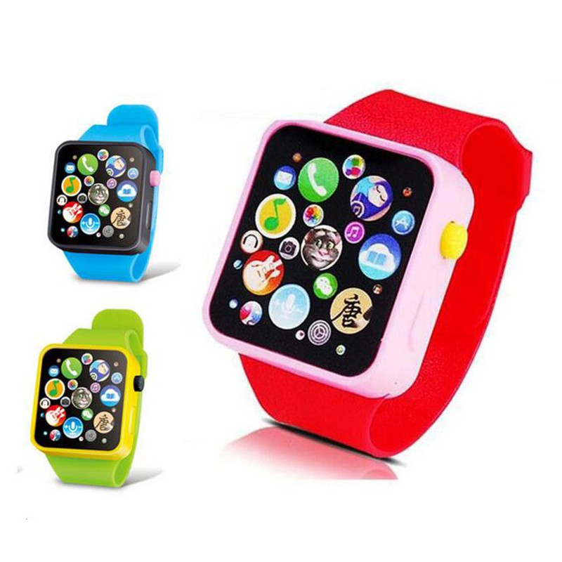 Novelty Children Multi-function Smart Watch Infant Kinds Sound Story Watches Toy Over 3 Years L1