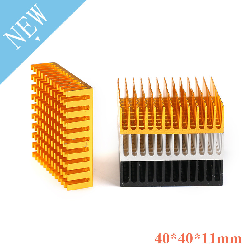 2Pcs Radiator Aluminum Heatsink Extruded Profile Heat Dissipation For Electronic Z09 Drop Ship