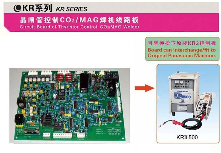 YDT KR-350, KR-500 PCB / placă de control / Tiristor Mașină de - Echipamente de sudura - Fotografie 4