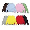 Niños chaquetas de invierno Primavera Rebecas de Las Muchachas Del color Del Caramelo de manga larga Casual Niñas bebés chaquetas de abrigo para Niños Niños Ropa de Abrigo