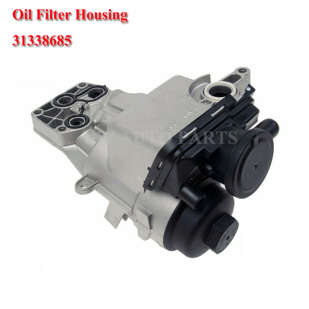 Filter Housing Kit 31338685 Whistle Noise Oil Trap PCV 2.5 5-cylinder image