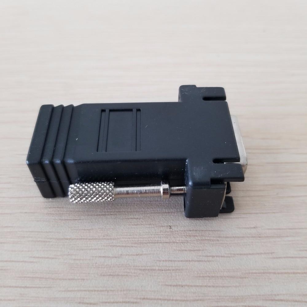 En gros 50 pcs/lot 15PIN VGA à RJ45 connecteur nouveau VGA Extender mâle à Lan Cat5 Cat5e RJ45 Ethernet femelle adaptateur - 2