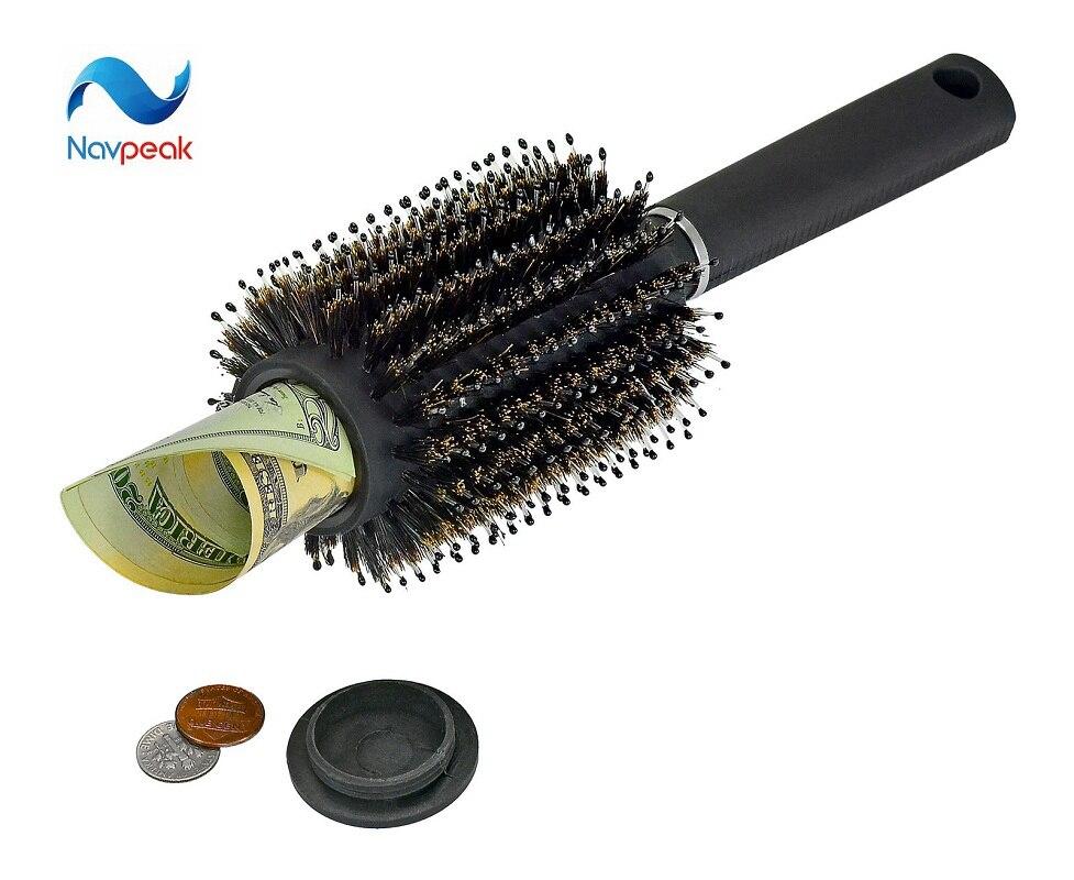 Hair Brush Secret Stash Box Safe Diversion Secret Security Hidden Valuables Hollow Container Home Secret Compartment