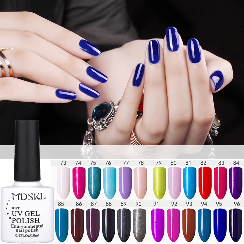 MDSKL Soak Off Gel Vernis Ongles UV LED Nail Gel Polish 96 Färger Mode Couleurs Gel Polish Vernis Semi Permanent Nail Art
