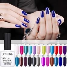 Mdskl Soak Off Gel Vernis Ongles UV LED Гели для ногтей Польский 96 Цвета модные Couleurs гель для ногтей Vernis полу постоянный Дизайн ногтей