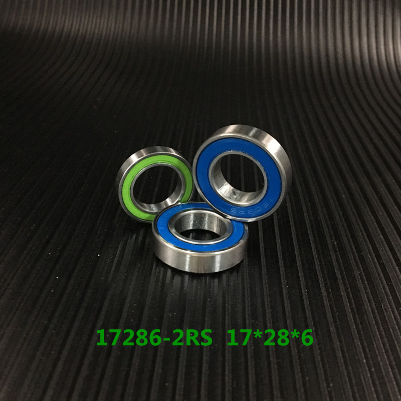 Free Shipping 17286-2rs Max Mr1728-2rs 17286 17286vrs Full Complement Ball Bearing For Bicycle Suspension Frame Piont 17x28x6mm bicycle suspension pivot point bearing 6900 2rs max 10 22 6 mm full complement