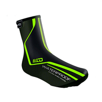 2 Colors Pro Cycling Shoe Covers Winter Waterproof MTB Bike Zipper Shoe Cover Overshoes Ciclismo Outdoor