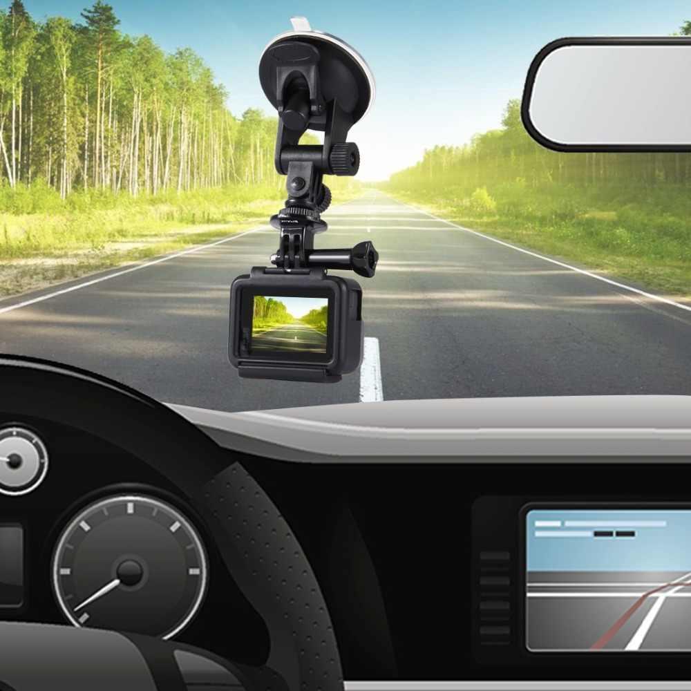 PULUZ Автомобильная присоска крепление с помощью винтов и штатива крепление адаптер и сумка для хранения для GoPro