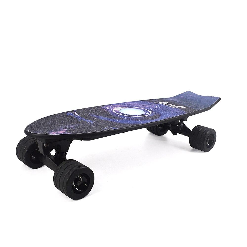 Quatre Roues Électrique Planche À Roulettes Avec Sans Fil À Distance Contrôleur E Planche À Roulettes Scooter Longboard Skate Board pour Adultes Enfants - 3